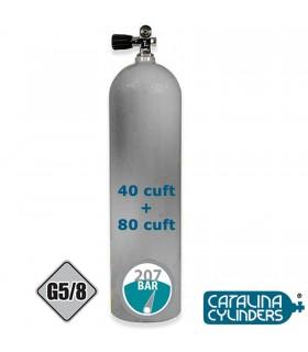 Catalina Aluminiumflasche mit Mono Ventil