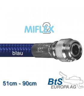 Miflex hoch flexibler Inflatorschlauch blau