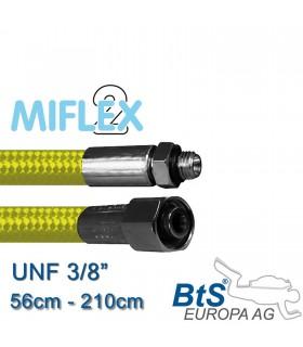 """ND Schlauch Miflex UNF3/8"""" gelb"""