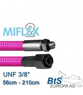 """ND Schlauch Miflex UNF3/8"""" pink"""
