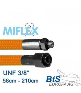 """ND Schlauch Miflex UNF3/8"""" orange"""