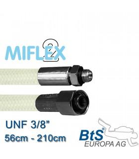 """ND Schlauch Miflex UNF3/8"""" weiß"""
