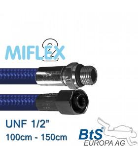 """ND Schlauch Miflex UNF1/2"""" blau"""