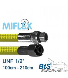 """ND Schlauch Miflex UNF1/2"""" gelb"""