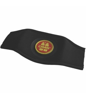 Maskenbandschutz mit OMS Logo