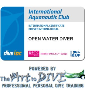 I.A.C. Open Water Diver